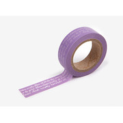 Masking tape single - Dear lettering