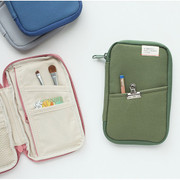 A low hill zip around pocket multi pouch