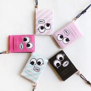 Hello cute illustration card wallet