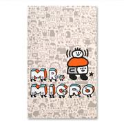 Mr. Micro paperback plain notebook