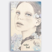 Water Bud paperback plain notebook