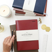 2017 Indigo The basic official undated diary