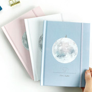 Moon special undated hardcover diary scheduler