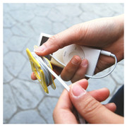 Earphone cable winder