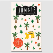 Paperpack Jungle paperback plain notebook