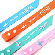 Yolo long travel luggage name tag