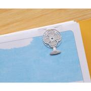 Bookfriends Gentle breeze steel bookmark