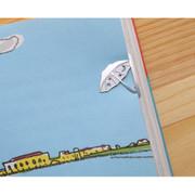 Bookfriends Raining day steel bookmark