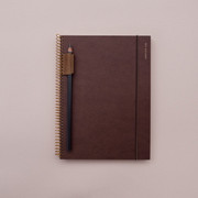 Jstory Slow and simple wirebound monthly undated journal notebook