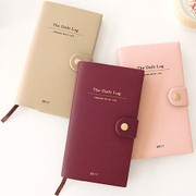 2017 Gunmangzeung Engage with life button dated diary scheduler
