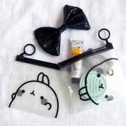 Bookcodi Molang zip lock small pouch