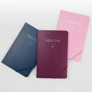 Positive dated hardcover diary