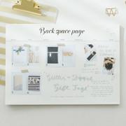 Wanna This Calli undated monthly desk planner