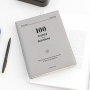 Seize the day 100 stories journal notebook