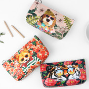 Fashionable animal triangle standing pouch