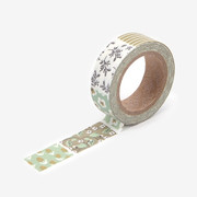"Dailylike 0.59""X11yd deco Masking tape single - Warm flower"