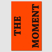 Paperpack Press graphic paperback plain notebook - The moment
