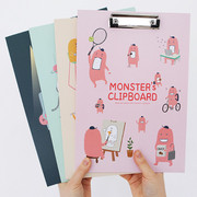 Indigo Monster's keep your paper with clipboard