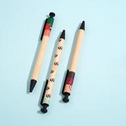 Monopoly Woody cute black ballpoint pen 0.7mm