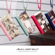 Photo cover smartphone wallet