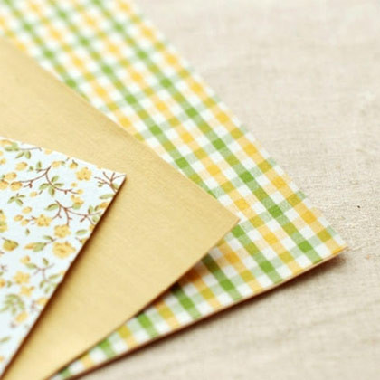 Fabric Deco Adhesive Stickers 3 Sheets A Pack A4 Size Enfant