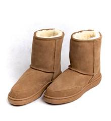 Skinnys Outback Short Boot Chestnut