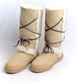 Skinnys Sheepksin Sundance Boot Natural