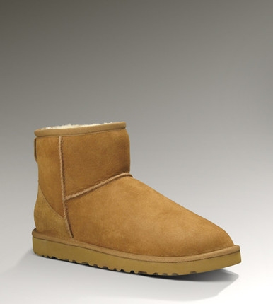 UGG® Classic Mini Chestnut Front