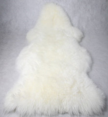 Skinnys Longwool Sheepskin White
