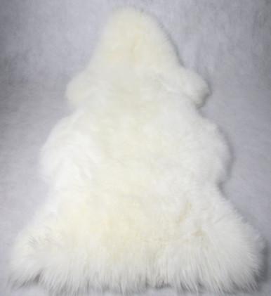 Skinnys Longwool Sheepskin White