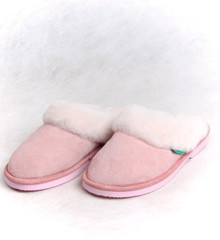 Skinnys Ladies Cosy Scuff Pink