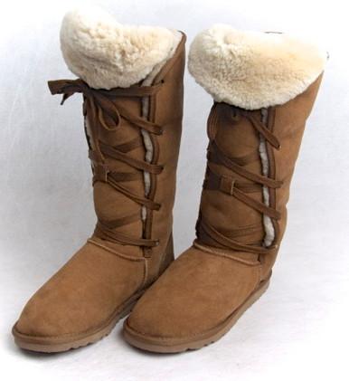 Skinnys Eskimo Boot Chestnut