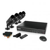 ZMODO PKD-DK40107 4CH CCTV Security System