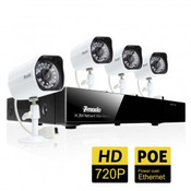 4 Channel 720P Network Video Recorder