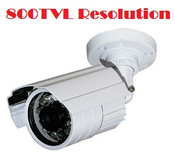 Weatherproof Outdoor 800TVL CCTV Camera