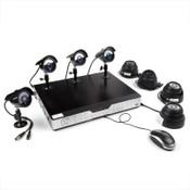 Zmodo 16CH Complete CCTV System 8 600TVL Security Cameras-1TB HDD