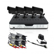 PKD-DK4216 4 channel security surveillance system