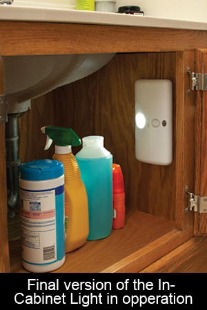 In-Cabinet Light Finished Design Under Sink