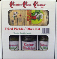 Impress your guests and fry up the best Pickles and Okra on the planet with Gator Wing Batter! AHYeeeee!