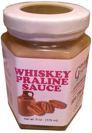 Whiskey Praline Sauce that has many uses that gives the right flavor to your deductibles.