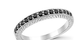 Black Diamond Wedding Rings Bands