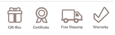 certificate, gift-box, warranty