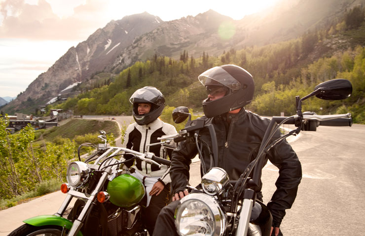 men and women motorcycle gear