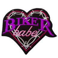 Biker Babe Patch