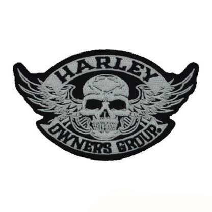 Harley Owners Group HOG Motorcycle Embroidered Patch