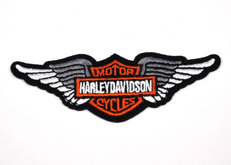 Harley silver angel wings