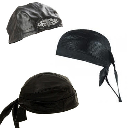 Leather Skull Cap / Bandana