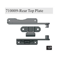 710009		Rear Top Plate(Al.) (Gun Metal)