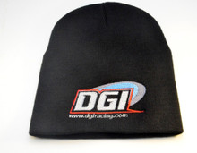 Dgi Racing beanie hat unfolded