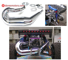 DDM Dominator® V1 Chrome Pipe w/FREE X-Port for HPI Baja 5b/5t